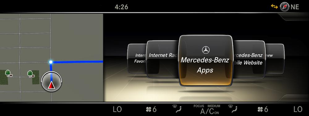 Mercedes benz intelligent drive ces for Mercedes benz apps
